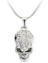 cheap -Men's Women's Skull Personalized Fashion Pendant Necklace Alloy Pendant Necklace , Casual