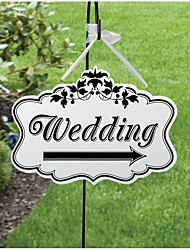 cheap -Wedding Engagement Wedding Party Wood Wedding Decorations Garden Theme Spring Summer Fall Winter