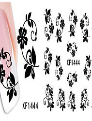 3 Nail Sticker Art Autocollants de transfert de l'eau Maquillage cosmétique Nail Art Design