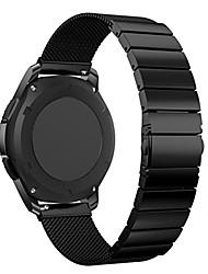 billiga -Klockarmband för Gear S3 Frontier / Gear S3 Classic Samsung Galaxy Sportband Rostfritt stål Handledsrem