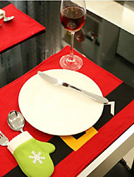 Недорогие -жить в ресторане отеля украшают стол коврик творческие рождественские товары