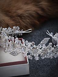 Imitation Pearl Alloy Tiaras Headbands Wreaths Headpiece Elegant Style