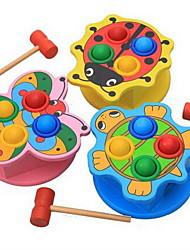 Недорогие -Молот / Ударная игрушка Игрушки для младенцев Устройства для снятия стресса Игрушки Оригинальные Образование деревянный Дерево