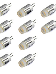 cheap -10pcs 1W 200lm G4 LED Bi-pin Lights T LED Beads High Power LED Warm White Cold White 12V