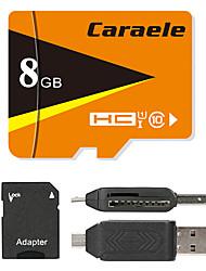 Caraele 8GB Micro-SD-Karte TF-Karte Speicherkarte UHS-I U1 Class10