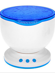 cheap -NEJE Ocean Wave Projector Lamp with MP3 Speaker / LED Night Light