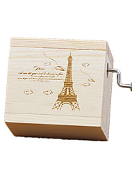 Music Box Toys Square Tower Sweet Special Creative Pieces Boys' Girls' Birthday Valentine's Day Children's Day Gift