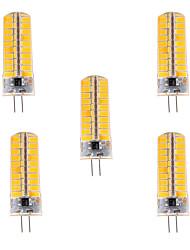 YWXLIGHT® 500-700 lm G4 LEDコーン型電球 T 80 LEDの SMD 5730 調光可能 装飾用 温白色 クールホワイト AC 110-220