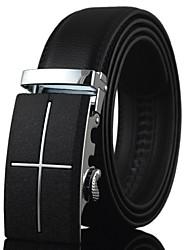 abordables -Hombre Cuero Cinturón de Cintura Trabajo / Casual Todas las Temporadas