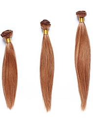 Недорогие -3 Связки Индийские волосы Классика / Яки Remy Мелированные Волосы Ткет человеческих волос Расширения человеческих волос