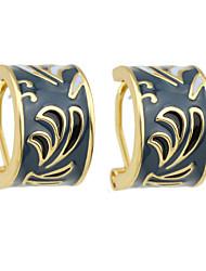Boucle Boucles d'oreille goujon Bijoux Femme Soirée Alliage 1 paire Violet / Rose Bonbon / Bleu Marine