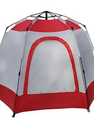 Soaring® 5-8 persone Rifugi e teloni Tenda Doppio Tenda da campeggio Una camera Tenda automatica Ben ventilato Ompermeabile Asciugatura