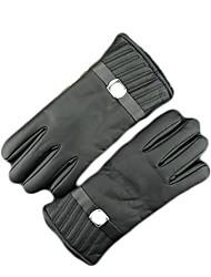 Vollfinger Leder Leder Motorräder Handschuhe