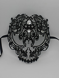 Men Devil Skull Laser Cut Party Ball Mardi Venetian Masquerade Mask 5003A1