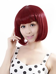 "Neitsi 100% Kanekalon Fiber 14""(35cm) 160g/pc Women's Girl's Cosplay Short Synthetic BOB Hair Wig"