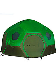 cheap -MOBI GARDEN 3-4 persons Tent Double Camping Tent One Room Family Camping Tents Keep Warm Waterproof Portable Windproof Ultraviolet