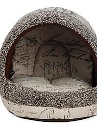 Недорогие -Кошка Кровати Палатка Пещера Кровать Дом домашних животных Плюш Животные Коврики и подушки На каждый день