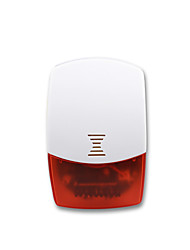 cheap -MiB High Quality Security Alarm System Wireless Red Flashing Light Indoor Siren IS01 Support iOS&Android app control