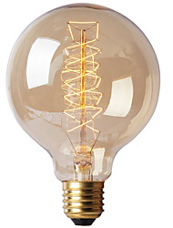 E27 40W G80 Wire Bar Bubble Dragon Edison Retro Decorative Lamp Filament