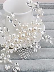 billige -Imiteret Perle / Rhinsten Hair Combs med 1 Bryllup / Speciel Lejlighed Medaljon
