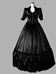 economico -Medievale Vittoriano Costume Per donna Vestiti Stile Carnevale di Venezia Vestito da Serata Elegante Vintage Cosplay Raso Lungo