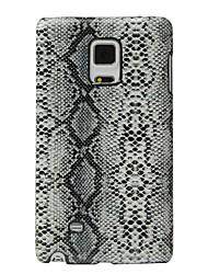preiswerte -Hülle Für Samsung Galaxy Stoßresistent Rückseite Linien / Wellen Hart PU-Leder für Note Edge