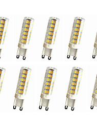 e14 g9 g4 führte bipolaren lichter t 75led smd 2835 500-600lm warmweiß kaltweiß dekorative ac110 ac220v