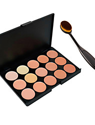 cheap -Foundation BB Cream Makeup Brush Tool+15 Colors Contour Face Cream Makeup Concealer Palette