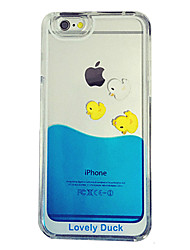 cheap -Case For iPhone 5 Apple iPhone 8 iPhone 8 Plus iPhone 5 Case Flowing Liquid Transparent Back Cover Cartoon Hard PC for iPhone 8 Plus
