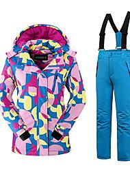 Per donna Tenere al caldo Comodo Set di vestiti Tessuto sintetico Abbigliamento da neve Di tendenza Abbigliamento invernale Sport da neve