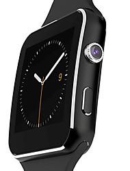 baratos -Homens / Mulheres Relógio Esportivo / Relógio de Moda / Relógio Elegante Monitor de Batimento Cardíaco / Tela de toque / Alarme Silicone Banda Amuleto / Casual / Arco-Íris Preta / Branco / Calendário