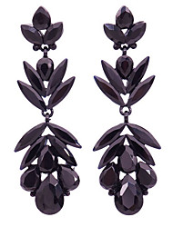 Dame Ørering Krystal Mode luksus smykker Simuleret diamant Legering Geometrisk form Smykker Til Daglig