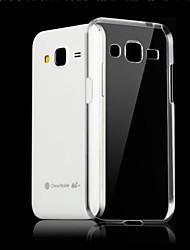 abordables -Pour Samsung Galaxy Coque Transparente Coque Coque Arrière Coque Couleur Pleine PUT pour Samsung J7 (2016) J7 J5 (2016) J5 J1 (2016) J1