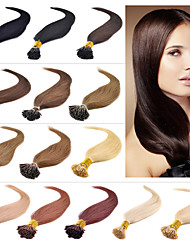 cheap -Hot Selling I Tip Hair Extenisons 16-24 Inch 100s/lot Keratin Thick Tip Hair Brazilian Hair Extension Remy Human Hair Big Promotion