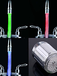 cheap -RC-F902 Stylish Water Stream Colorful Luminous LED Light Faucet Light (Plastic, Chrome Finish)