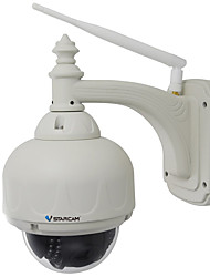cheap -VStarcam C7833WIP-X4 1.0 MP Outdoor with IR-cut Zoom 128(Day Night Motion Detection Dual Stream Remote Access Waterproof Plug and play