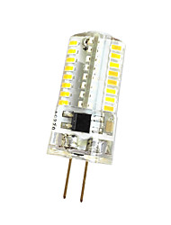 cheap -3W 280-300lm G4 Decoration Light T 64 LED Beads SMD 3014 Dimmable Warm White / Cold White 220V / 85-265V
