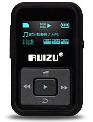 RUIZU MP3 MP3 / WMA / WAV / FLAC / APE Rechargeable Li-ion Battery