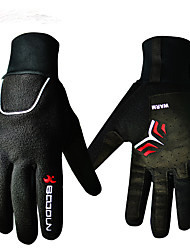cheap -BOODUN/SIDEBIKE® Sports Gloves Sports Gloves Winter Gloves Bike Gloves / Cycling Gloves Keep Warm Breathable Wearproof Shockproof