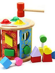 Недорогие -Молот / Ударная игрушка Игрушки для младенцев Обучающая игрушка Игрушки Оригинальные Дерево 1 Куски Девочки Мальчики Подарок