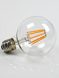 abordables -E26/E27 Bombillas LED de Globo G80 8 COB 800 lm Blanco Cálido K Regulable AC 100-240 AC 110-130 V