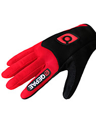 cheap -Sports Gloves Bike Gloves / Cycling Gloves Keep Warm Wearable Breathable Wearproof Anti-skidding Shockproof Multifunction Full-finger