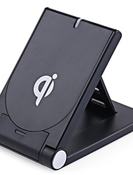 cheap -Qi Standard Wireless Charging Foldable Stand Desktop Charger for Samsung Galaxy S7  S7 edge S6 S6 edge Note5 and All Qi-enabled Devices