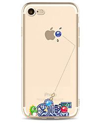 economico -Per iPhone X iPhone 8 iPhone 7 iPhone 7 Plus iPhone 6 Custodie cover Ultra sottile Fantasia/disegno Custodia posteriore Custodia Punk