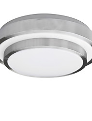 cheap -YouOKLight®  15W LED / Bulb Included Electroplated Acrylic Flush Mount Living Room / Bedroom / Dining Room (AC85~265V)