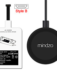 android kit de recharge sans fil récepteur adaptateur chargeur récepteur bobine pad style-b pour tous les micro usb style b smartphone