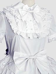 Doce Princesa Mulheres Uma Peça Vestidos Cosplay Manga Curta