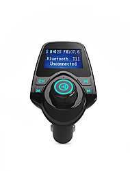 cheap -Bluetooth FM Transmitter Support TF Card, U Disk, Car Charger