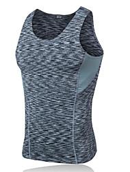 economico -Per uomo T-shirt da escursione Esterno Inverno Asciugatura rapida Indossabile Traspirante Comodo Abbigliamento a compressione Top Yoga