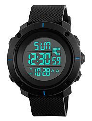 cheap -Skmei® Men's Outdoor Sports LED Digital Multifunction Wrist Watch 30m Waterproof Assorted Colors